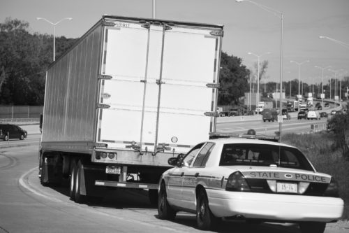 1 hour, 18-wheeler pursuit in Texas
